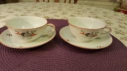 Antik (1938-1945) MZ Altrohlau kávés szettek. Hibátlanok! Az ár a két szettre vonatkozik.