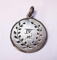 Régi ezüst medál, 1914-1920...
