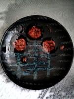 Bodrogkeresztúri kerámia tányér, falitányér