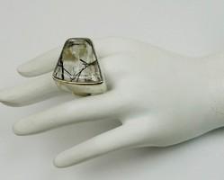 EXTRAVAGÁNS ezüst gyűrű