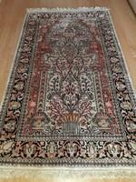 Életfás Kézi selyem Perzsa szőnyeg