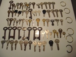 72db kulcs különféle egyben eladó sok régi darabbal