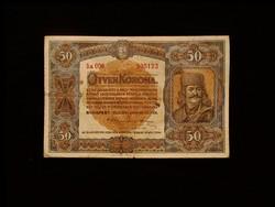 50 KORONA - 1920 JANUÁR