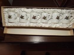 Mini pohár készlet vadászoknak selyembéléses dobozban eladó