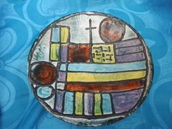 Karácsony Zsuzsa falitál - fali tányér