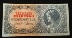 1946  TÍZEZER MILPENGŐ SZÉP ÁLLAPOTÚ RITKA