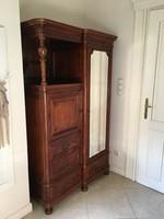 Tükrös bécsi barokk szekrény
