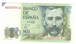 1000 peseta 1979 Spanyolország