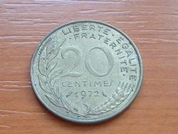 FRANCIA 20 CENTIMES 1972