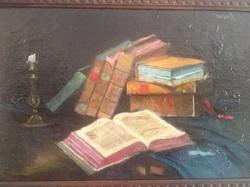 Lakos Alfréd ( 1870-1961 ) - Könyvcsendélet