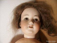 Antik Porcelán fejű baba Armand Marseille