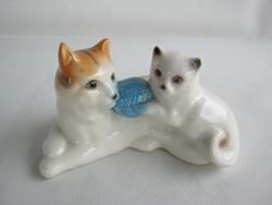 Porcelán cica macska