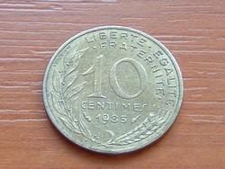 FRANCIA 10 CENTIMES 1985