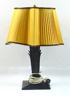 0U846 Fém testű art deco asztali lámpa állólámpa