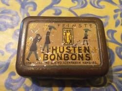 Antik gyógyszeres bonbonos doboz