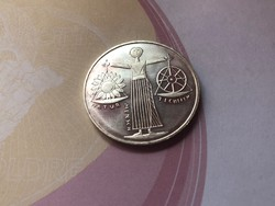 2000 ezüst 10 márka 15,5 gramm 0,925