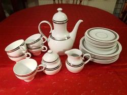 Wonderful Eschenbach Bavaria coffee set with a beautiful shape and rare pattern!