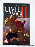 CIVIL WAR II  /  No: 3 MARVEL  /  Külföldi KÉPREGÉNY Szs.:  9676