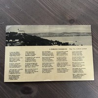Antik képeslap Tihany