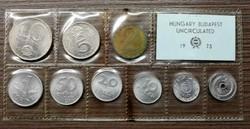 Forint forgalmi sor 1973