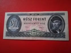 1975-ös 20 Forint Nyomdai papírránc VISZONYLAG ALACSONY SORSZÁM 005472