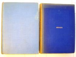 2 db történelmi regény: A nagy napóleon, VII Edward és kora