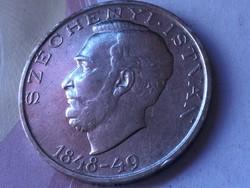 Széchenyi ezüst 10 forint,gyönyörű darab 20 gramm