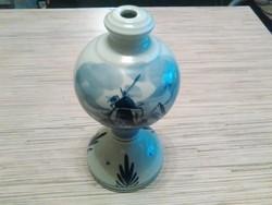 Holland Delft porcelán lámpa test