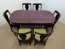 Empire étkező(asztal+6 szék)