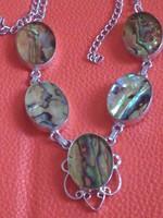 Abalone ezüst nyakék