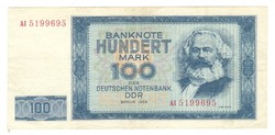 100 márka 1964 NDK Németország