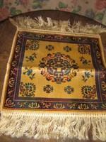 Gyönyörű bársony Bokhara pakisztáni kis szőnyeg