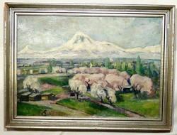 Tavaszi , vidám , minőségi festmény