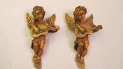 Angyal pár- puttó pár eladó falikép-szobor