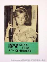 1966 december  /  KÉPES FILM HÍRADÓ  /  Régi ÚJSÁGOK KÉPREGÉNYEK MAGAZINOK Szs.:  9054