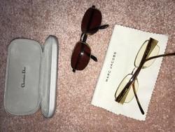 Christian Dior ,Giorgio Armani,Marc Jacobs Szemuveg csomag