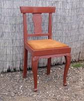 Neobarokk oroszlánlábas szék