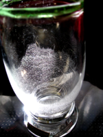 Eisch kristály Waldperle retro váza