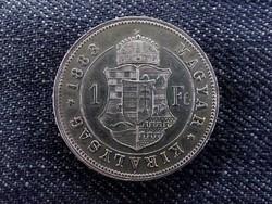 Nagyon szép ezüst 1 Forint 1883 (id7334)
