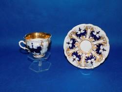 Meisseni teás csésze aljjal eredeti   1850  körül