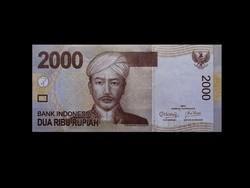 UNC - 2000 RUPIA - INDONÉZIA - 2011