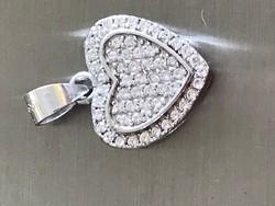 Csodálatos ezüst szívmedál 925