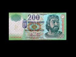 200 FORINT - NAGYON SZÉP 2002-BŐL!