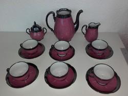 Waldershof Bavaria Germany teás-, kávés készlet.