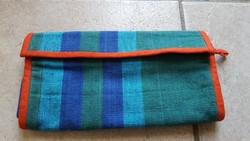Textil női kézitáska, handmade Sri Lanka
