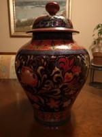 Curiosity! Zsolnay Multi-fired Art Nouveau Eosin Studio vase for Collectors, Unique, Flawless Pieces