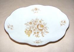 Hollóházi porcelán kínáló