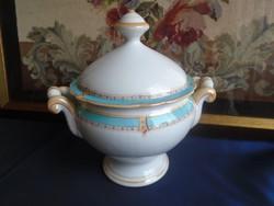 Antik /1908/ szószos, leveses tál.