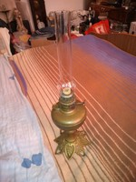 Antik belga bronz petrol lampa