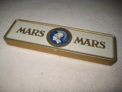 MARS ,régi  ceruza tartó fémdoboz  180 x 50 20 mm